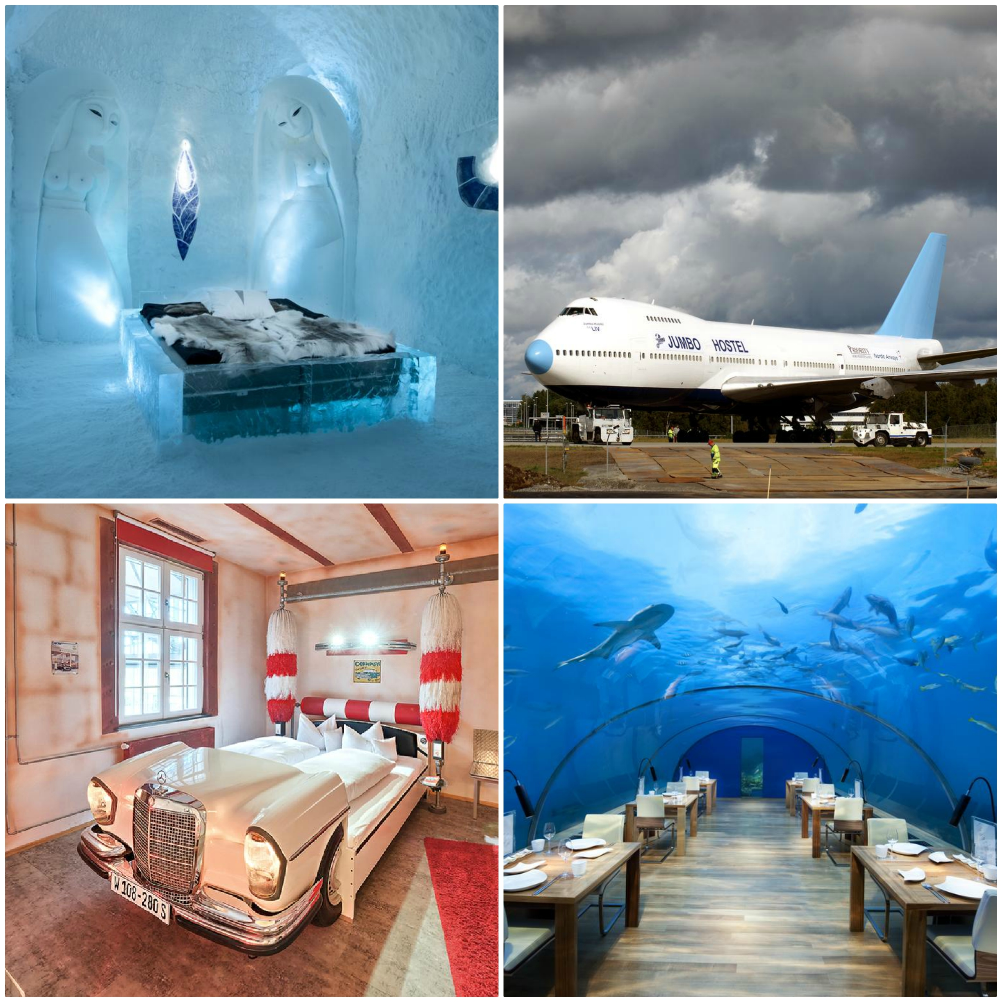 Top 10 crazy cool hotels in the world!