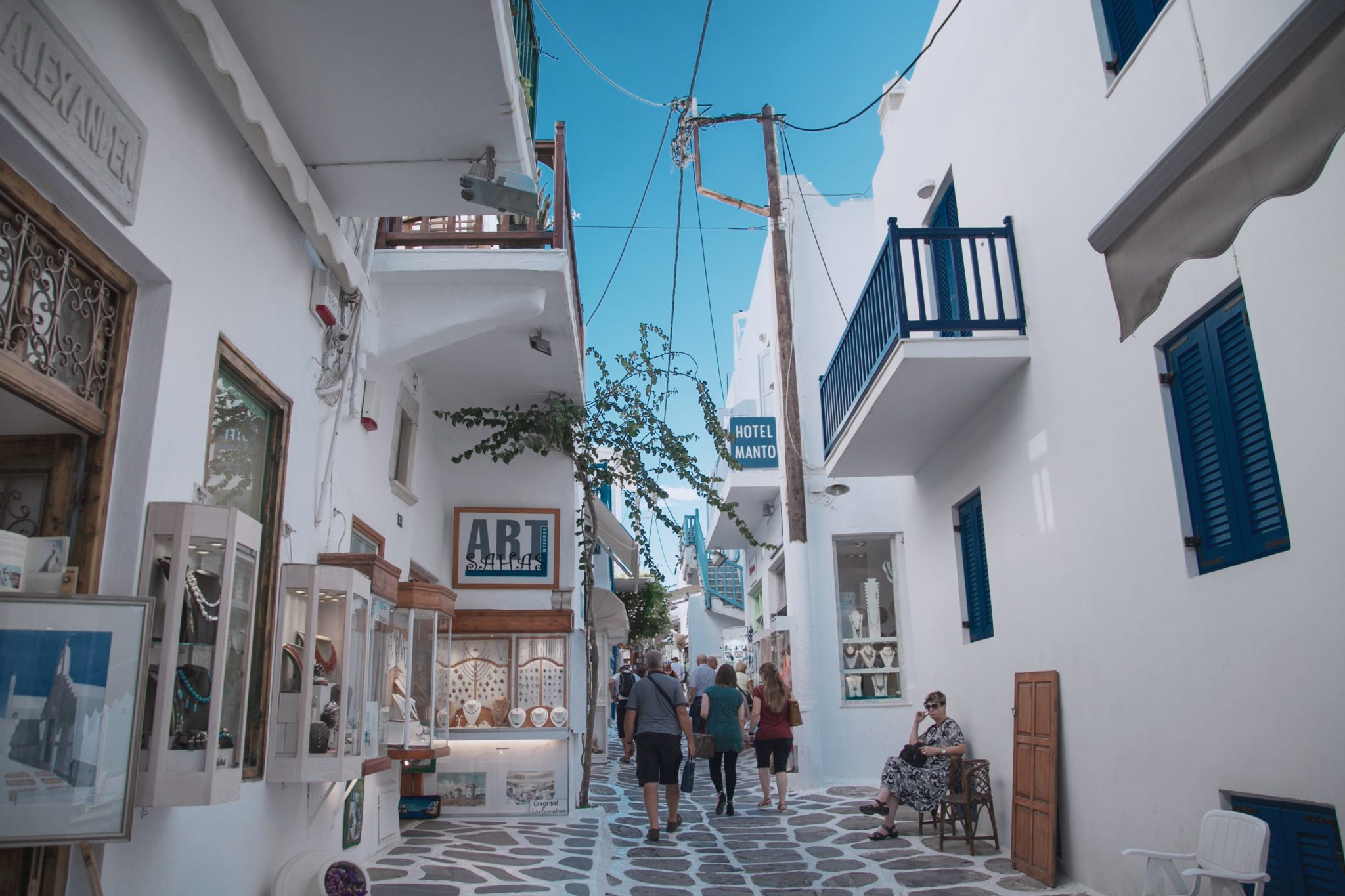Mykonos - 7 nights + flight from Vienna = 122€